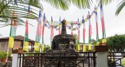 Sanctuary Garden Stupa
