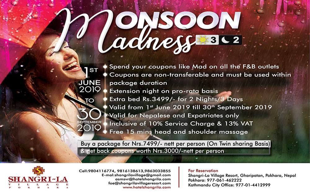 Monsoon Madness - 2019