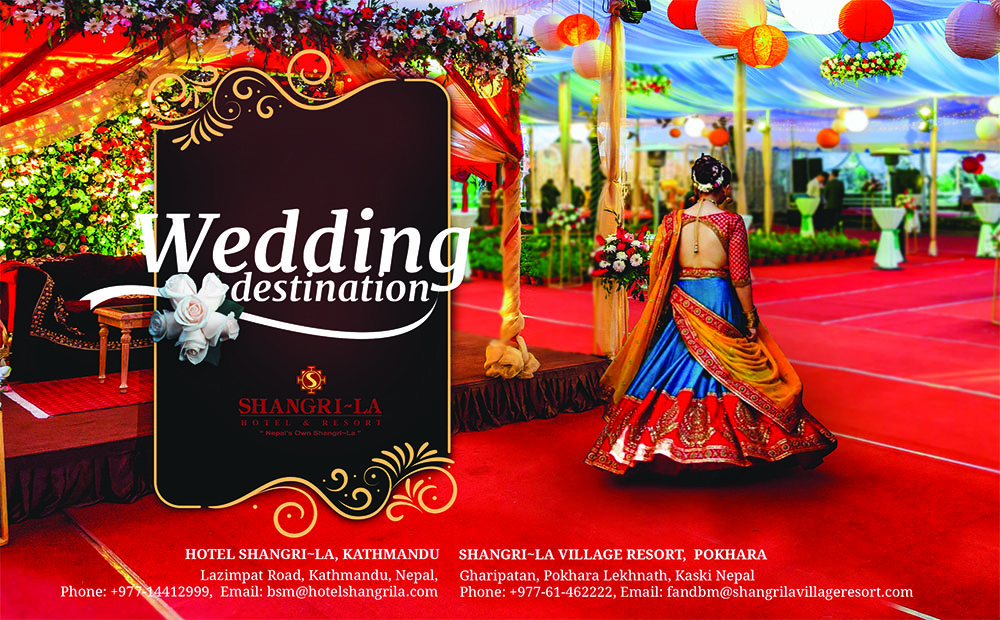 Wedding Destination - Hotel Shangri~La, Kathmandu