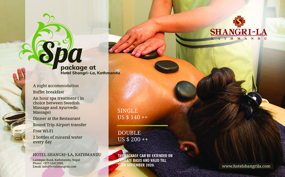 Spa Package in Hotel Shangri~La